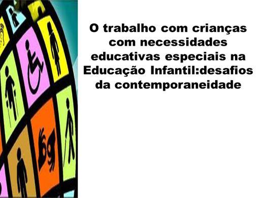 Curso Online de A inserção da criança com deficiência na Educação Infantil