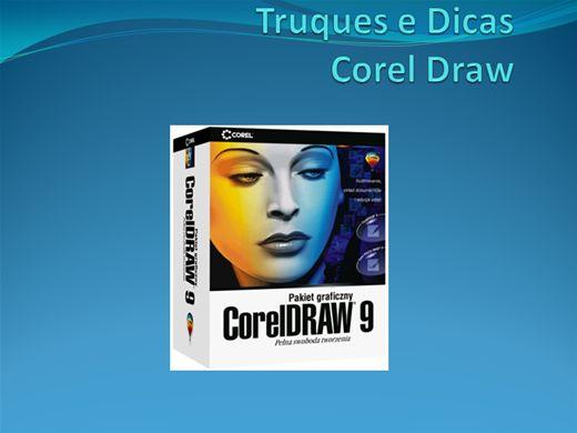 Curso Online de Truques e dicas  Corel Draw9