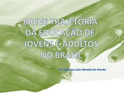 Curso Online de Breve Trajetória da EJA no Brasil