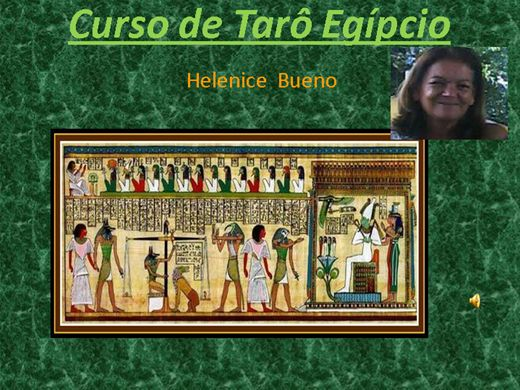 Curso Online de Curso completo de Tarô Egipcio