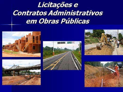 Curso Online de Licitações e Contratos Obras Públicas