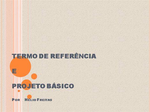 Curso Online de Termo de Referência e Projeto Básico