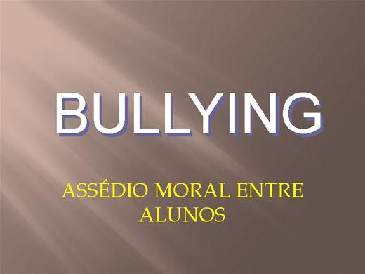 Curso Online de Bullying:Assédio moral entre alunos