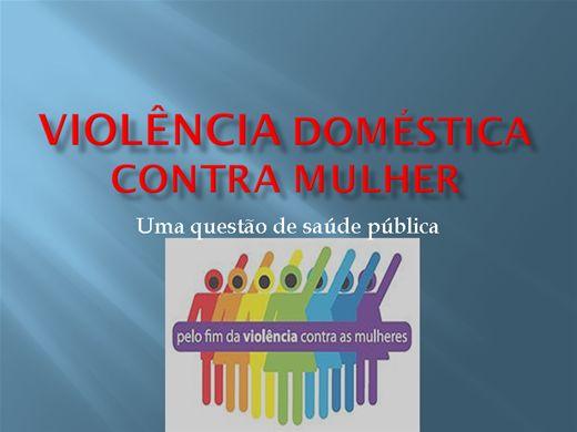 Curso Online de Violência doméstica contra mulher: Uma questão de saúde pública