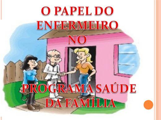 Curso Online de O PAPEL DO ENFERMEIRO NO PROGRAMA SAÚDE DA FAMÍLIA