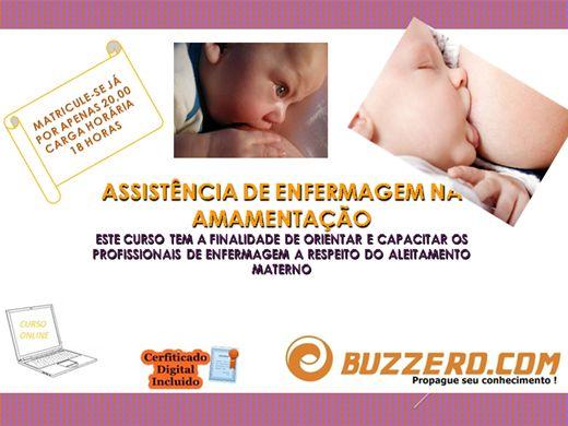 Curso Online de ASSISTÊNCIA DE ENFERMAGEM NA AMAMENTAÇÃO