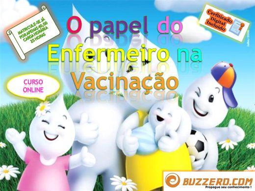Curso Online de O PAPEL DO ENFERMEIRO NA VACINAÇÃO