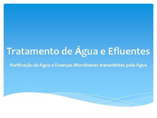 Curso Online de Tratamento de Água e Efluentes