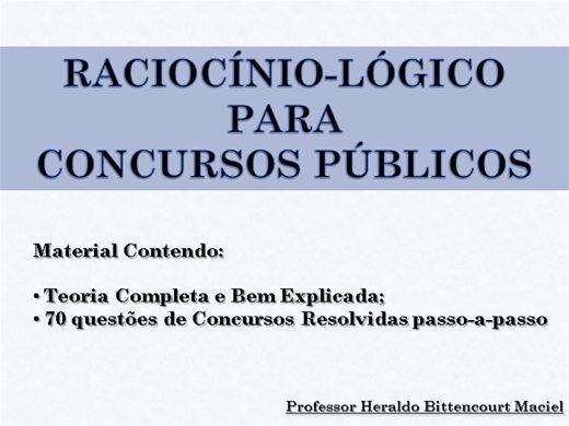 Curso Online de RACIOCÍNIO LÓGICO PARA CONCURSOS PÚBLICOS