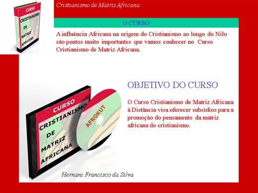 Curso Online de Cristianismo de Matriz Africana
