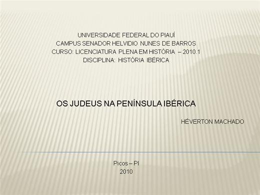 Curso Online de Judeus na peninsúla Ibérica