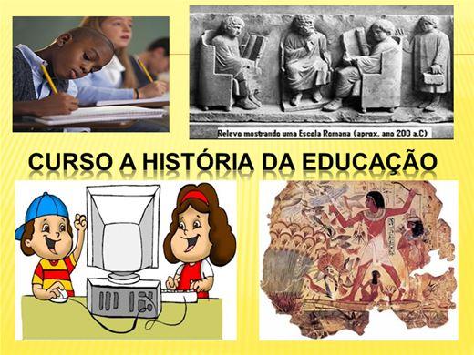 Curso Online de  A História da Educação