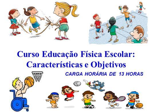 Curso Online de Educação Física Escolar:Características e Objetivos