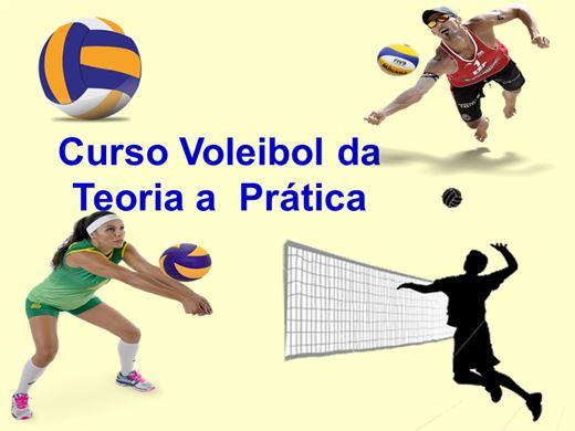 Curso Online de Voleibol da  Teoria a  Prática