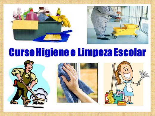 Curso Online de Higiene e Limpeza Escolar