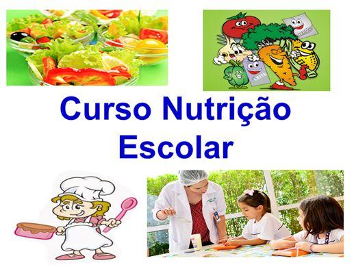 Curso Online de Nutrição Escolar