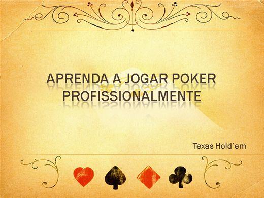 Curso Online de Aprenda a jogar Poker Profissionalmente