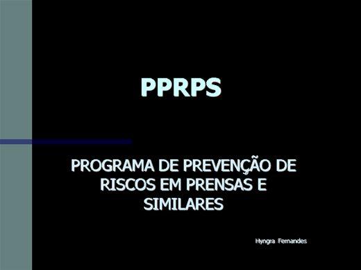 Curso Online de Curso PPRPS   ( Segurança do Trabalho )