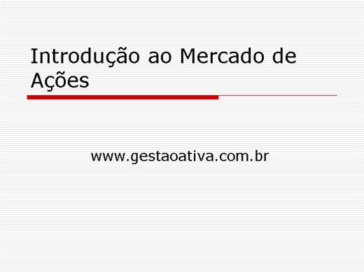 Curso Online de CURSO CONHEÇA O MERCADO DE AÇÕES E  FOREX  com videoaulas