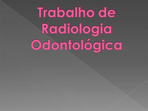 Curso Online de Técnicas Radiograficas em odontologia