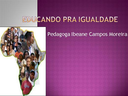 Curso Online de Educando para a igualdade