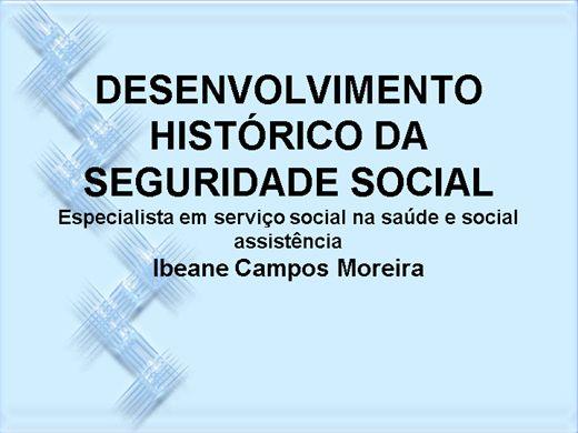 Curso Online de Desenvolvimento historico daseguridade social