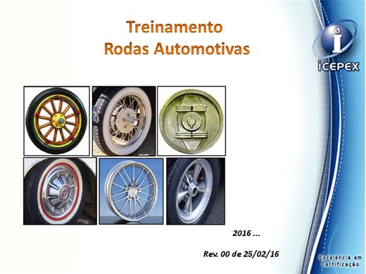 Curso Online de Rodas Automotivas - Modulo XXVIII