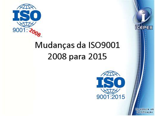 Curso Online de Mudanças da ISO9001: 2008 para 2015