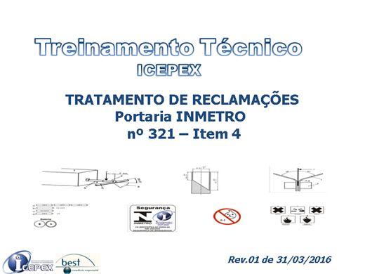 Curso Online de ICEPEX - TRATAMENTO DE RECLAMAÇÕES - BRINQUEDOS