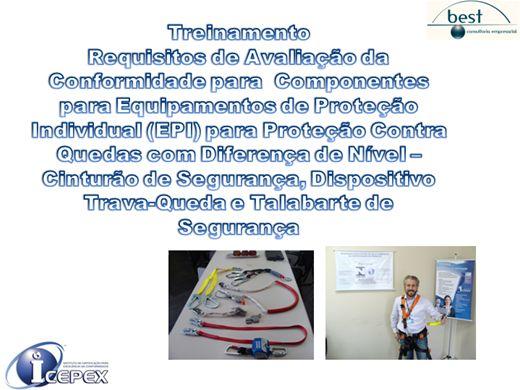 Curso Online de ICEPEX - TRATAMENTO DE RECLAMAÇÕES - EPI (Trabalho em Altura)