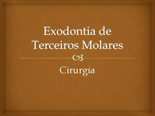 Curso Online de Exodontia de Terceiros Molares