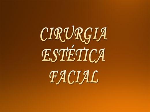 Curso Online de Cirurgia Estética Facial