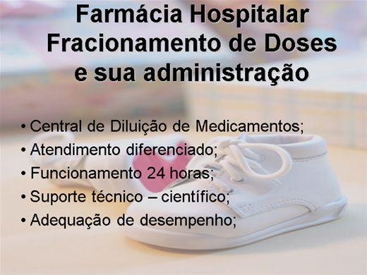 Curso Online de Fracionamento de Doses e sua administração.