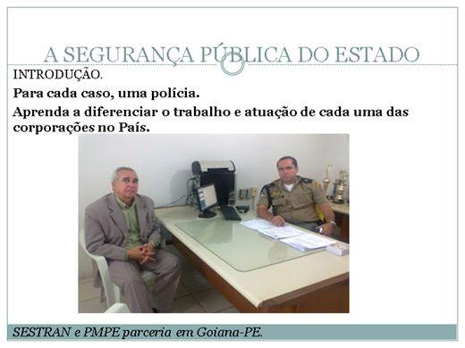 Curso Online de GESTÃO  DA SEGURANÇA MUNICIPAL
