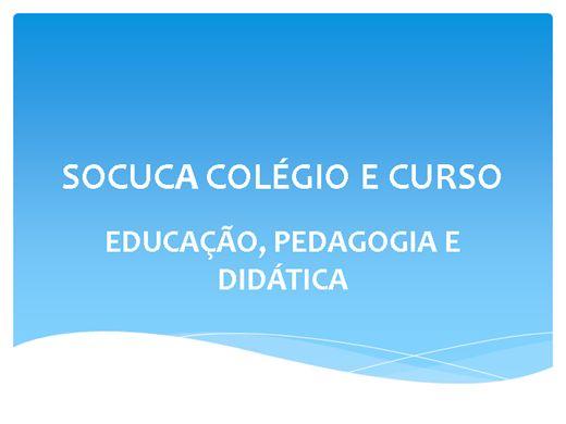 Curso Online de GESTÃO PÚBLICA E POLÍTICA - DIDÁTICA DO ENSINO SUPERIOR