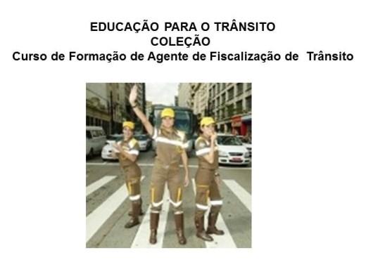 Curso Online de Educação Para o Trânsito