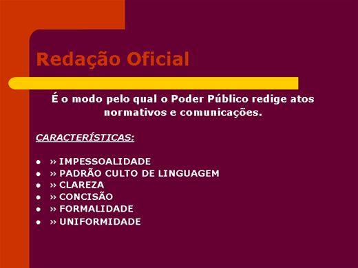 Curso Online de Redação Oficial