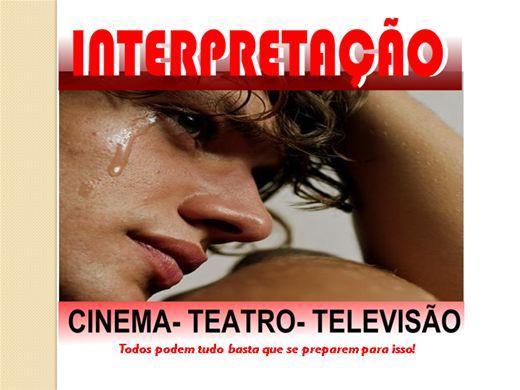 Curso Online de Interpretação - cinema, teatro e televisão