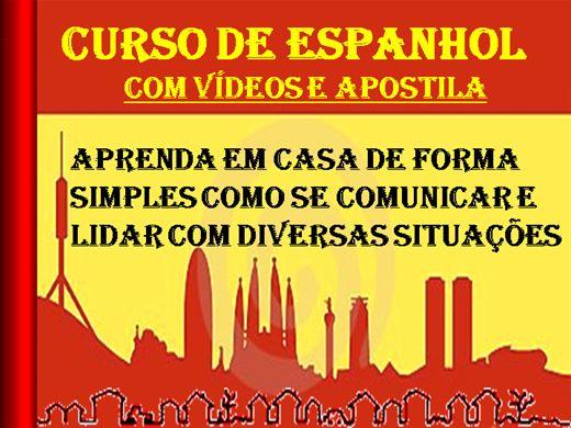 Curso Online de Espanhol Com Vídeos e Apostilas
