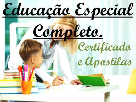 Curso Online de Educação Especial Completo