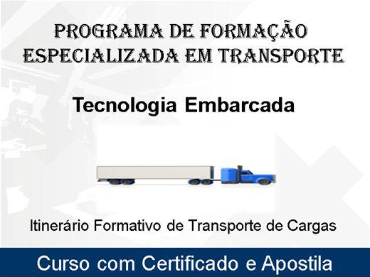 Curso Online de Formação Especializada em Transporte - Tecnologia Embarcada