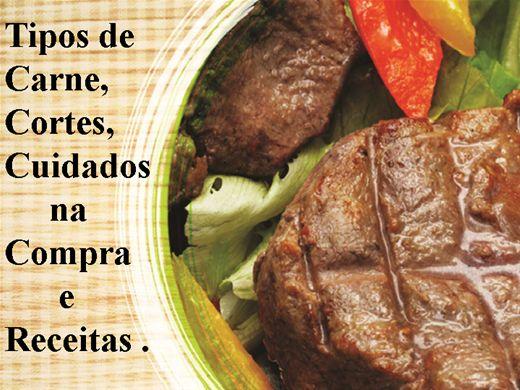 Curso Online de Tipos de Carne, Cortes, Cuidados na Compra e Receitas