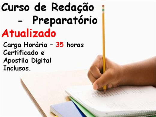 Curso Online de Redação - Preparatório