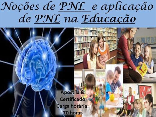 Curso Online de Noçoes de PNL e aplicação de PNL na Educação