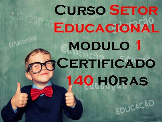 Curso Online de Setor Educacional Módulo 1