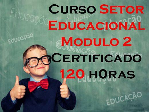 Curso Online de Setor Educacional Módulo 2