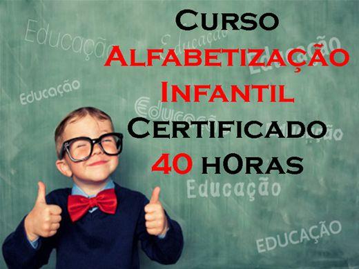 Curso Online de Alfabetização Infantil