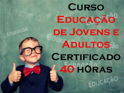 Curso Online de Educação de Jovens e Adultos