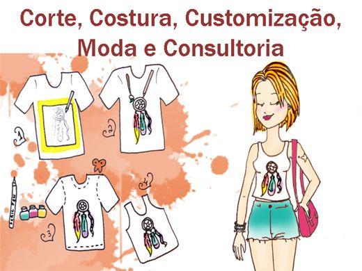 Curso Online de Corte, Costura, Customização, Moda e Consultoria