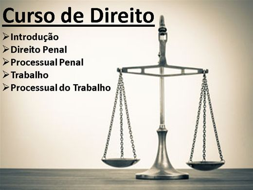 Curso Online de Direito - módulo 3